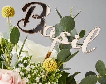 Personalised Wedding Table Names