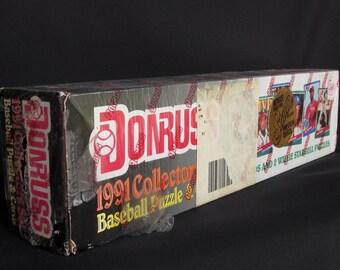 Donruss 1991 Collectors Set Factory Sealed Complete Set Baseball Cards Unopened - Baseball Collectibles - Leaf