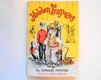 Hidden Trapezes, a Vintage Children's Book by Edward Fenton
