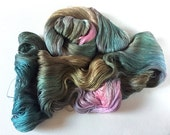 Ameratsu Pure Silk Cobweb Lace. Hunters Moon