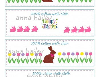 Crochet Tags Labels Printable Easter Labels