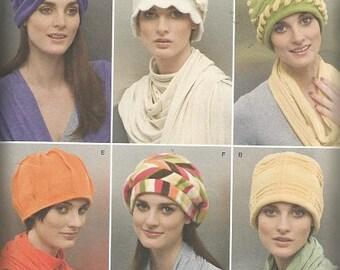 Simplicity 2494 Fleece Hat Pattern SZ S-L