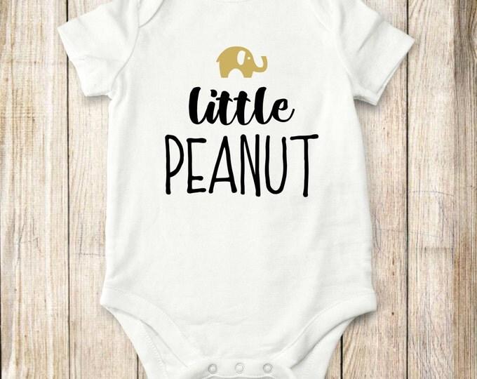 Elephant, Onesie, Little, peanut, onesie, Baby Clothes, bodysuit, children, tops