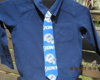 Detroit Lions Necktie