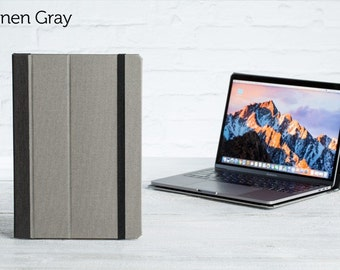 The Cartella Slim Case for 2016 Macbook Pro 13 - Linen Gray