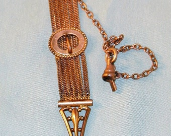 Victorian Watch Chain and Fob  #1