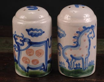 M.A. Hadley Salt and Pepper Shakers