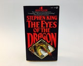 Vintage Fantasy Book Eyes of the Dragon by Stephen King 1988 First Edition Paperback