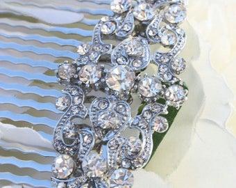 bridal hair accessories, bridal hair comb, wedding hair accessories, wedding hair comb, hair accessories,crystal hair comb, hair comb