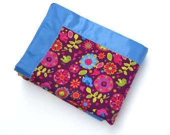 Baby Girl Blanket - Purple - Baby Blanket
