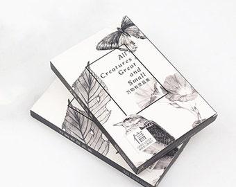 30 Pcs Creatures Card - Die Cut Cardstock Scrapbook Embellishment