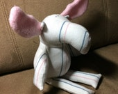 Plush Moose made from Baby's Receiving Blanket - Baby Shower Gift - Baby's First Birthday - New Mom Gift