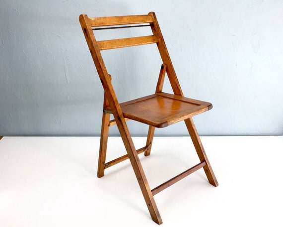 vintage wood folding chairs wooden chair mid century chair