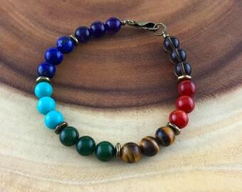 Men's Chakra Balance Bracelet