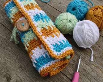 Crochet Hook Roll Little Box of Crochet