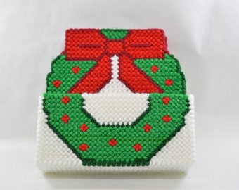 Christmas Wreath Coaster Set