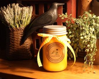 Sunflowers- Mason Jar Candle