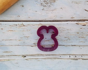 Mini Bunny Head Cookie Cutter and Fondant Cutter and Clay Cutter