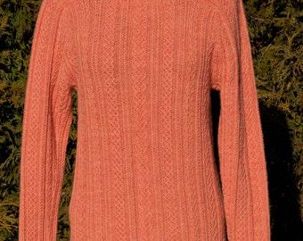 Austrian twisted stitch sweater