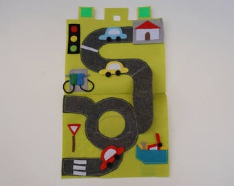 Car Trip / Travel Toy for Toddlers / Gift for Kid / Travel Toy / Unique Gift / On the Go / Educational Toy / Birthday Gift /