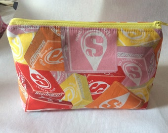 Starburst Print Cosmetic Makeup Bag