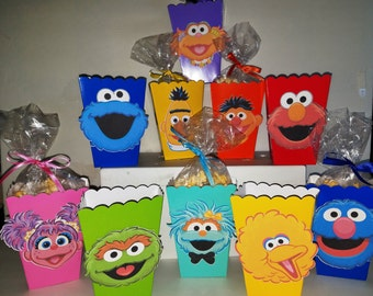 Sesame Street Snack Boxes - Set of 10