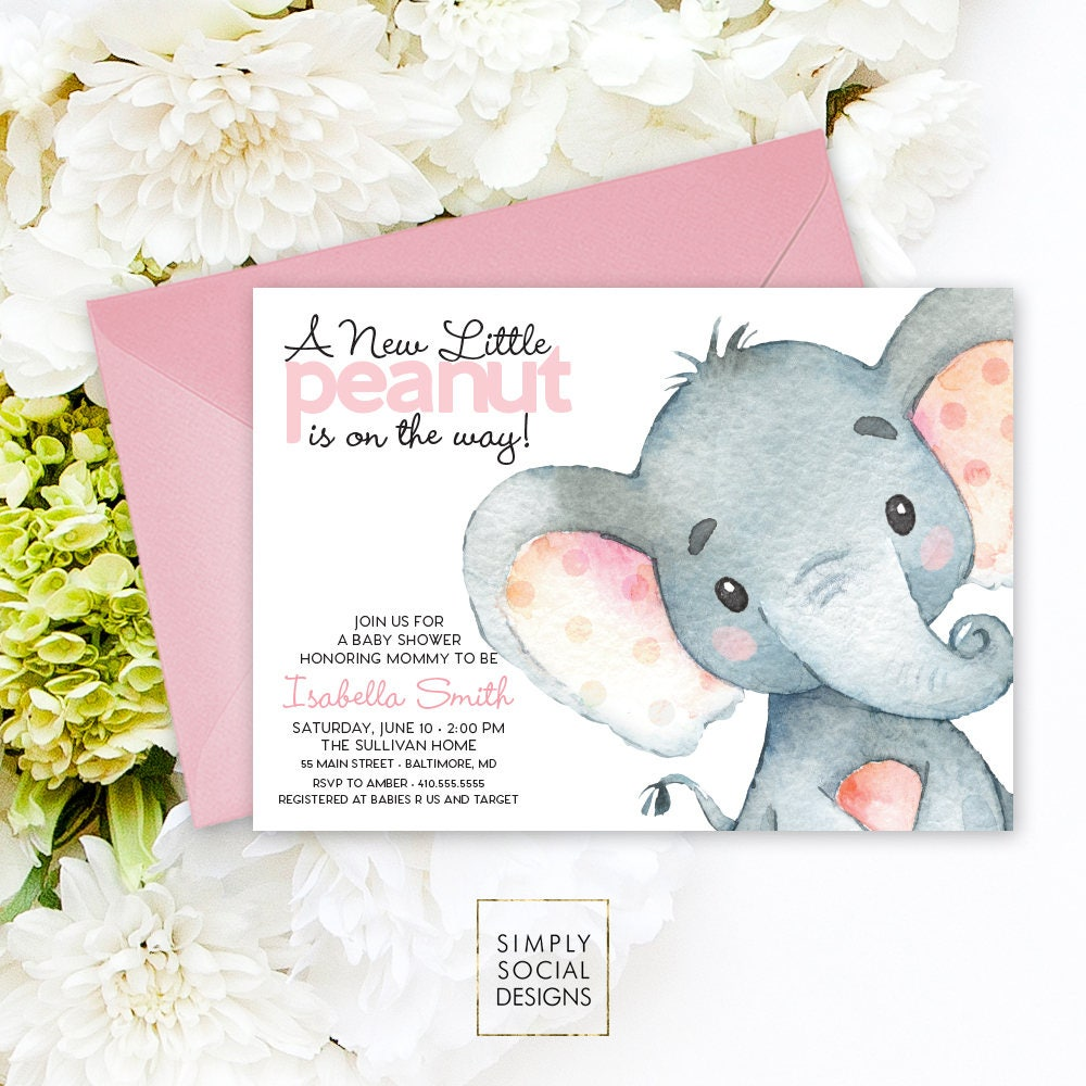 Modern Baby Shower Invitations is luxury invitation sample