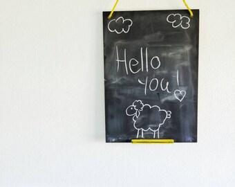 Chalkboard, modern chalkboard, kids room chalkboard, kitchen chalkboard, teens room chalkboard