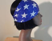 stars and stripes headband, memorial day, red, white and blue