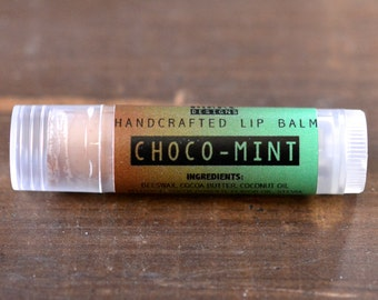 CHOCOMINT handcrafted lip balm