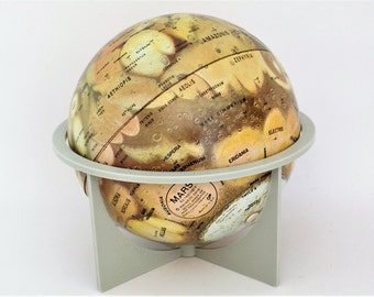 Vintage Mars Globe Replogle