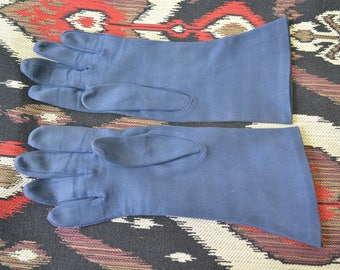 1950s Navy Aris Cotton Gloves
