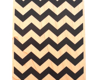Large Stamp Chevron