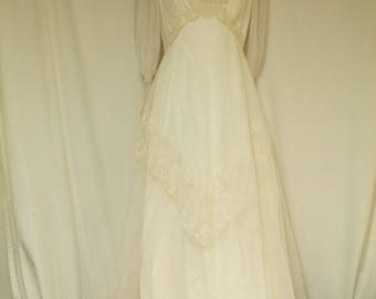 Gibson Girl Style, Wedding Gown, Dress, Small