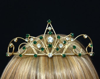 Vintage Colorful and Whimsical Tiaras