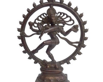 On Sale Nataraja / Brass / Shiva Nataraja / Shipping Included in the U.S.