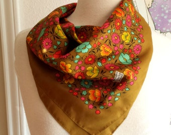 Vintage Floral Liberty of London Scarf