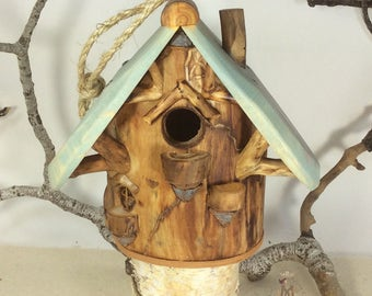 Willodel Natural Songbird House for Common Birds