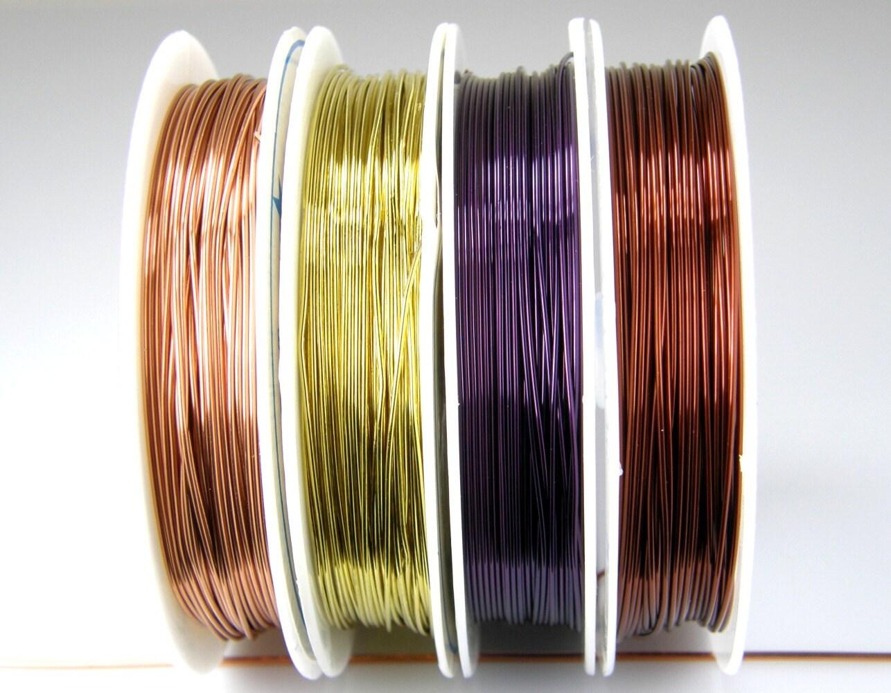 22 Gauge farbige Kupfer Draht für Wire Wrapping Schmuckdraht