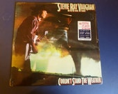 Stevie Ray Vaughan and Double Trouble Couldn't Stand The Weather Vinyl Record FE 39304 Epic Records 1984