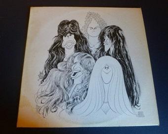 Aerosmith Draw The Line Vinyl Record JC 34856  Columbia Records 1977