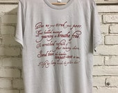 Liberty - Men's Grey Crew Neck Tshirt - New York Statue of Liberty Poem - Immigration Shirt - Emma Lazarus - Limited Edition