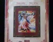Cross Stitch Kit Golden Fleece - DANCE OF LOVE; Mother's Day gift; Valentines day gift; Wedding gift