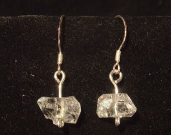 HERKIMER DIAMOND EARRINGS from ny sterling silver