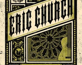 Eric Church Poster, London, Ontario