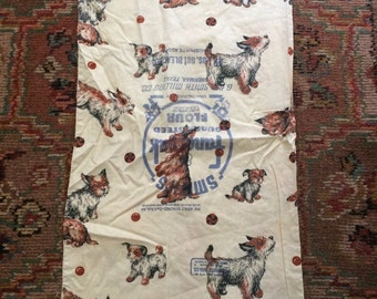 Percy Kent Made The Best Vintage Bags 1940s Dog Flour Sacks