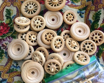 Cleaning Out The Spartan Vintage Wooden Wheels