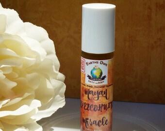 Mayan Tepezcohuite Miracle 100% Natural Concentrated Roll On Oil Serum. Cell Renewing Repairing Anti Aging w/ Organic Moringa. Vegan .33 oz