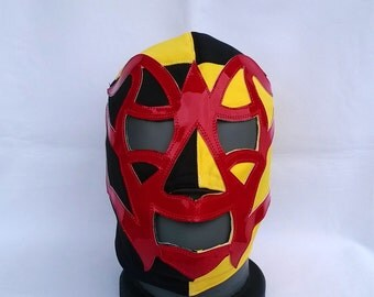 Fishman Optional Wrestling Mask Lucha Libre Mask Halloween day of the dead luchador Mardi Gras Mask the walking dead masquerade christmas
