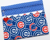 Chicago Cubs Cross Stitch, Embroidery Project Bag